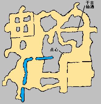 真三国无双3 包子与仙酒位置地图(2)
